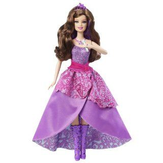 Girls Barbie Keira Doll Princess The Pop Star 2 in 1 Twist Change Hair
