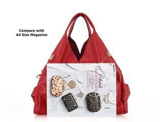Genuine Leather Womens Ladies Designer Fashion Handbag Hobo Shoulder
