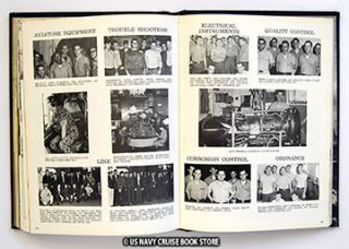 USS Kearsarge CVS 33 Vietnam War Cruise Book 1967 1968