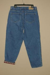 Womens Flannel Lined Jeans Petite