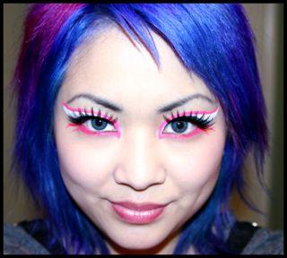 Kryolan UV Neon Aquacolor Palette Day Glow Makeup Drag Queen Cyber
