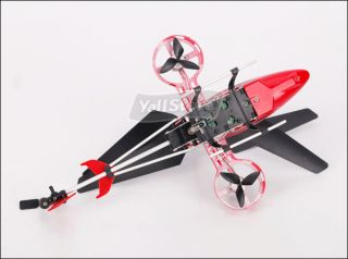 4CH RC IR Remote Control Metal Helicopter 4 Channel Mini Gyro RTF Heli