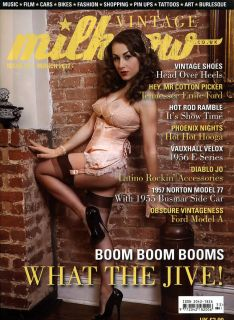 Milkcow Magazine 33 Rat Hot Rod Pinup Rockabilly Culture Deluxe Custom