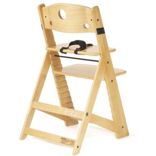 Keekaroo Height Right Toddler Wood High Chair New