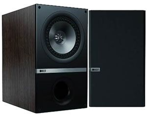 KEF Q100 Black PR Bookshelf Speaker