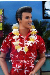 Ken Elvis in Blue Hawaii Doll