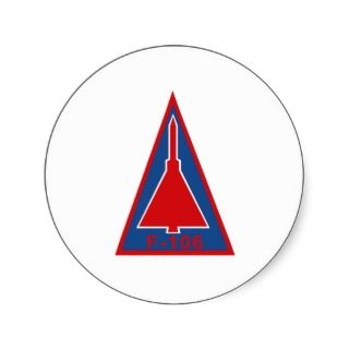 106 Delta Dart Stickers