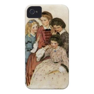 Meg, Jo, Beth and Amy by Jessie Willcox Smith iPhone 4 Cover