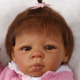 Ashton Drake Tiny Miracles Kendall Lifelike African American Baby Doll