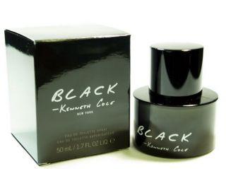 Kenneth Cole Black Cologne 1 7 oz EDT Men Spray 802465701009