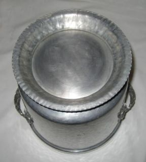 RODNEY KENT Aluminum LARGE 20 SERVING TRAY+ Ice Bucket + WATER DRINK