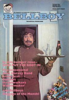 The Who Keith Moon Bellboy 1976 U K Tour Concert Program Book