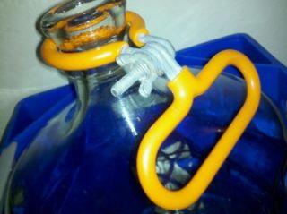 Kentwood Springs 5 Gallon Glass Water Bottle Jug Hard Plastic Carrying