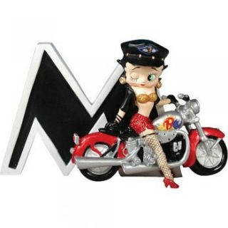 Betty Boop Letter M Initial Figurine