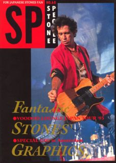 Stones Stone People 68 Japan Mag 1995 Keith Richards Cover