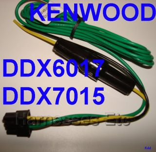 Kenwood 8 Pin Power Wire Harness Plug DDX6017 DDX7015