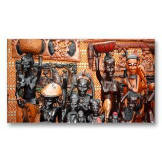 African art business card