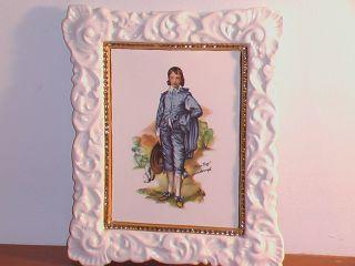 Gainsborough Ceramic Hanging Wall Art Sara Kesler 1973 Beautiful
