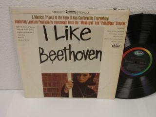 Like Beethoven LP Capitol SP 8635 Leonard Pennario, Rudolf Kempe Vinyl