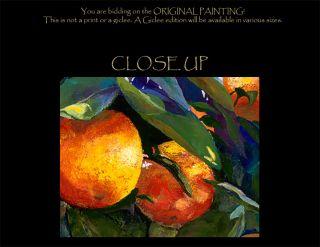 Original Oil Acrylic Painting Cindy McClure 38x48 Huge Pick Me