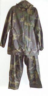 Godzilla Military Camo Rain Gear Worn by Kevin Dunn