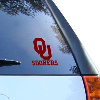 Oklahoma Sooners Small Window Cling