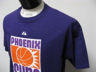 Mens NBA Phoenix Suns Throwback Kevin Johnson Jersey T Shirt XL