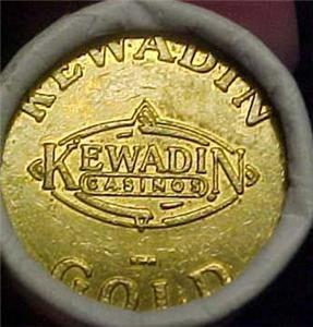 Kewadin Casino Roll Promo Tokens Saulte St Marie 8375