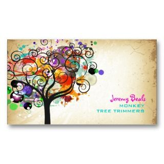 Tree Trimmers ♥♥♥♥ Business Card Templates