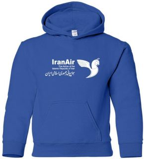 Iran Air Vintage Logo Iranian Airline Aviation Hoody