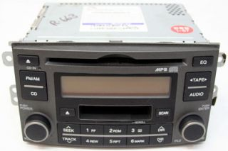 2007   2008 KIA RONDO VEHICLES FACTORY AM / FM CAR RADIO CD PLAYER