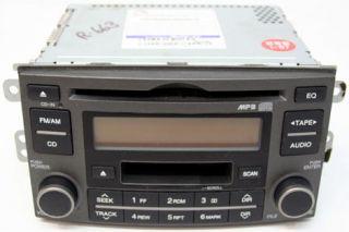 2007   2008 KIA RONDO VEHICLES FACTORY AM / FM CAR RADIO CD PLAYER