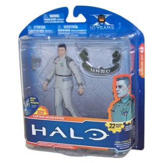 Toys Action Figure   Halo Anniversary S2   CAPTAIN JACOB KEYES (HALO 1