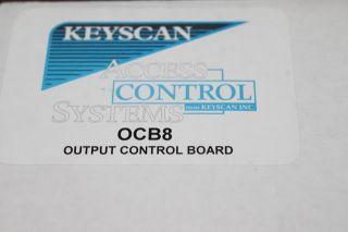 Keyscan OCB8 Access Control Systems 8 Relay Output Control Board NIB