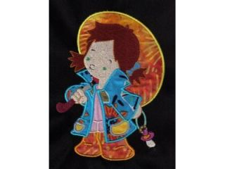 Applique Rainy Day Kids Machine Embroidery Designs