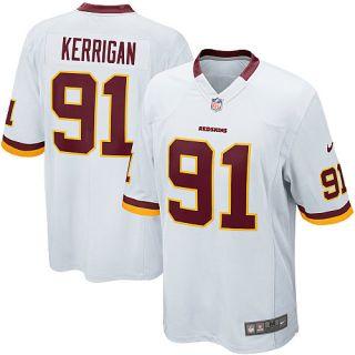 Nike Washington Redskins Ryan Kerrigan Game White Jersey