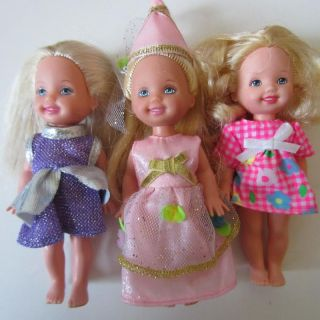 LOT 16 KELLY BARBIE SISTER TOMMY BABY KID DOLL & CLOTHES VTG & MODERN