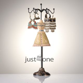 Jewelry Necklace Chains Bracelet Display Rack Stand Holder