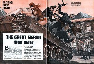 Male Great Sierra Mob Heist Sgt Regans Wipeout Bunch Earl Norem