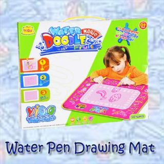 Children Child Aquadoodle Toy Water Drawing Pen & Mat With Box Gift