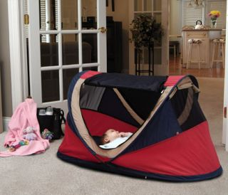 Kidco Peapod Plus Baby Travel Bed Tent Cot Air Mattress