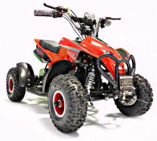 Kids Rocket Rampage 500 Electric Battery Quad Bike 36V 500 Watt Ride