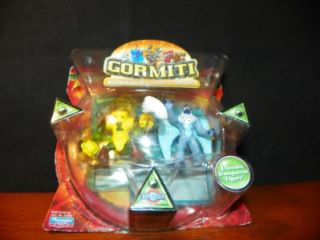 Series 2 Gormiti 2 Action Figures 2 Trading Cards