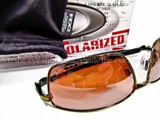 New Oakley Splinter Sunglasses Bronze Toast Polarized