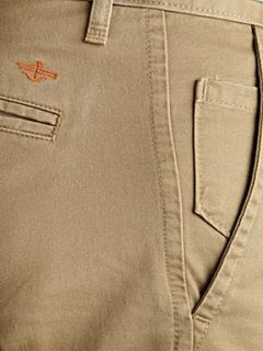 Dockers Alpha khaki tapered straight fitted chino`s Khaki