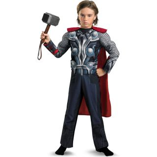 The Avengers Thor Light Up Muscle Chest Child Costume
