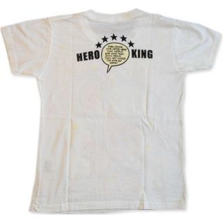 Boys Kids T Shirt Size s Cartoon Tattoo Hero The King School Clothes