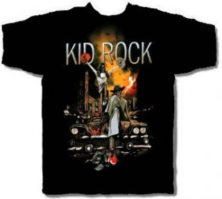 Kid Rock CD lgo Cartoon Ruins Official Shirt XXL 2X New