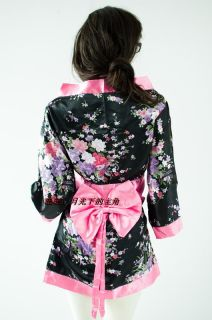 Women Pajamas Kimonos Japanese Kimono Robes Fun Night Skirt Bathrobe