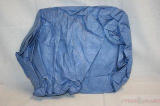 Kimberly Clark 45027 Kleenguard XXXXL A60 Blue Denim Coverall with